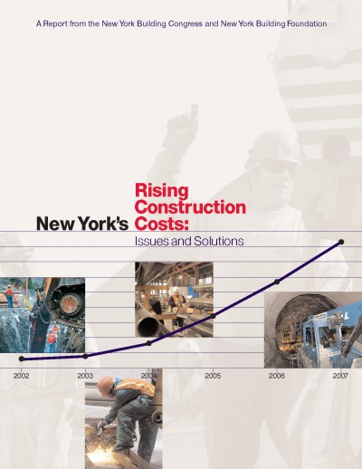 New york 39 s rising construction costs issues and solutions for New construction costs