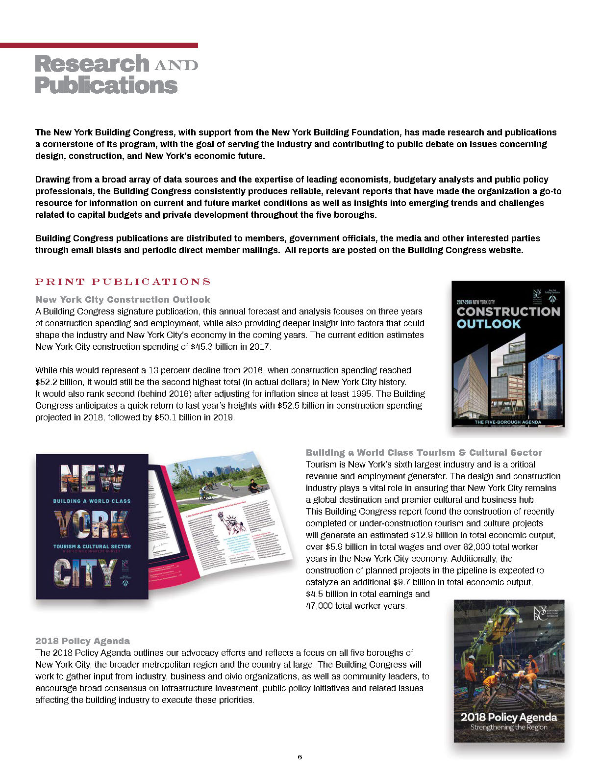 2018 Annual Report | New York Building Congress